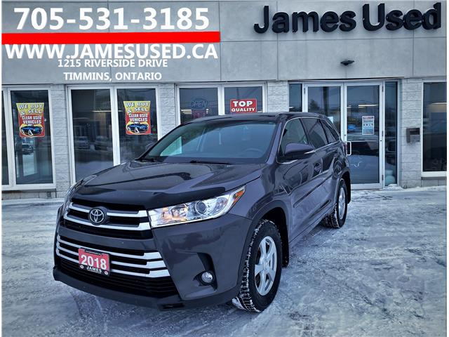 2018 Toyota Highlander LE (Stk: N21124A) in Timmins - Image 1 of 14