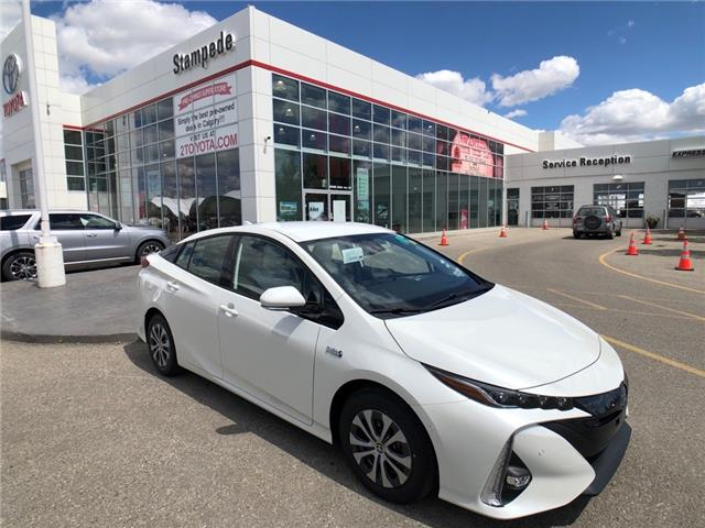2021 Toyota Prius Prime Upgrade (Stk: 210208) in Calgary - Image 1 of 14