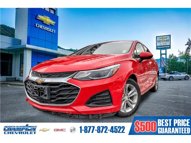2019 Chevrolet Cruze LT (Stk: 19-199B) in Trail - Image 1 of 7