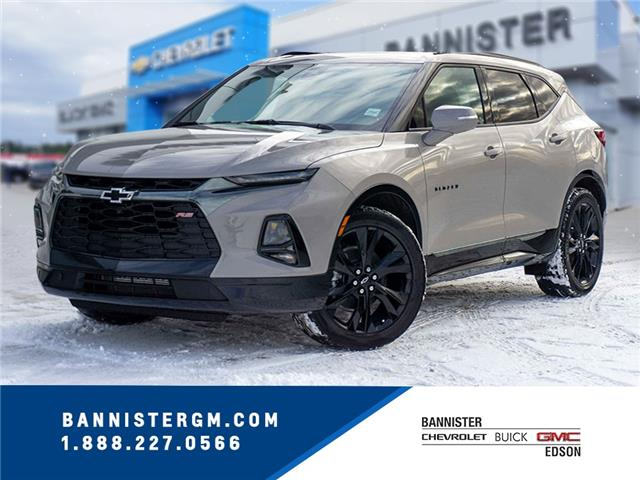 2021 Chevrolet Blazer RS (Stk: 21-059) in Edson - Image 1 of 17