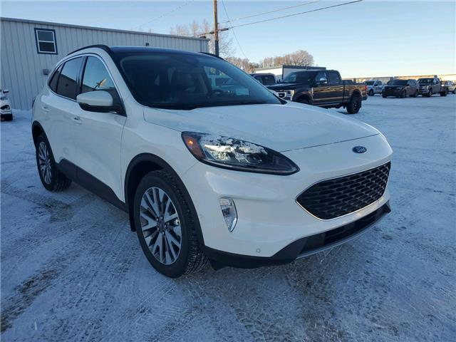2020 Ford Escape Titanium (Stk: 20281) in Wilkie - Image 1 of 22