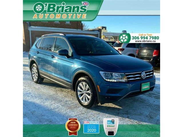 2019 Volkswagen Tiguan Trendline 3VV0B7AX2KM170473 14065A in Saskatoon