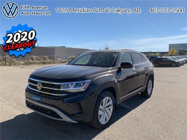 2020 Volkswagen Atlas Cross Sport 3.6 FSI Execline (Stk: 20172) in Calgary - Image 1 of 34