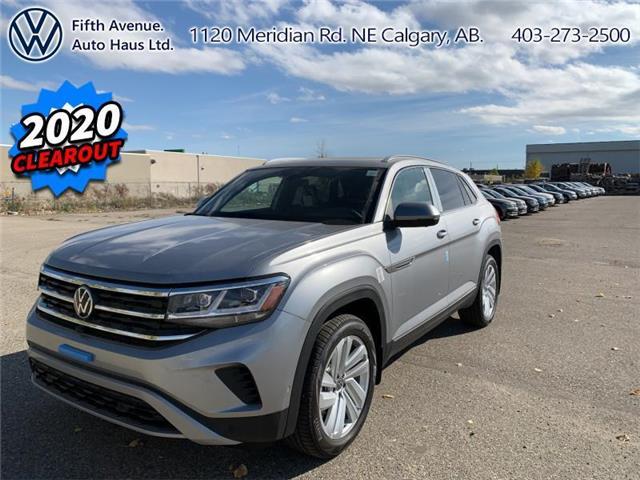 2020 Volkswagen Atlas Cross Sport 3.6 FSI Execline (Stk: 20169) in Calgary - Image 1 of 34