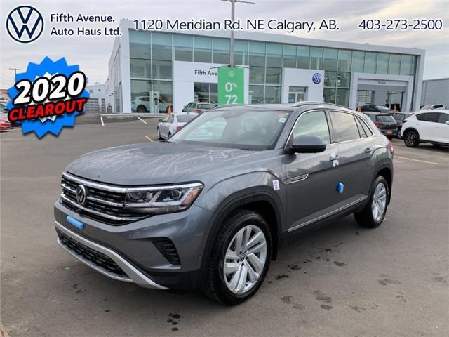 2020 Volkswagen Atlas Cross Sport 3.6 FSI Execline (Stk: 20196) in Calgary - Image 1 of 33