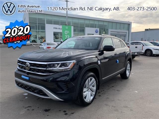 2020 Volkswagen Atlas Cross Sport 3.6 FSI Execline (Stk: 20198) in Calgary - Image 1 of 30