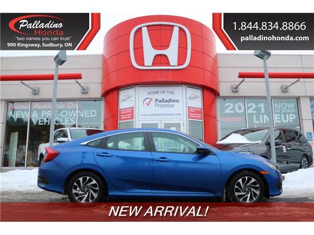 2018 Honda Civic EX (Stk: 22975A) in Sudbury - Image 1 of 1