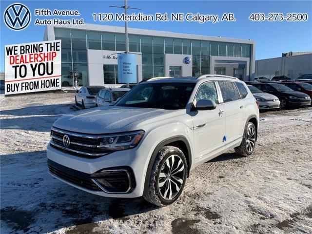 2021 Volkswagen Atlas 3.6 FSI Execline (Stk: 21092) in Calgary - Image 1 of 30