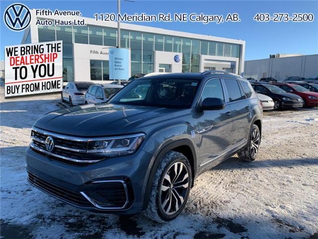 2021 Volkswagen Atlas 3.6 FSI Execline (Stk: 21091) in Calgary - Image 1 of 30