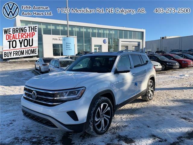 2021 Volkswagen Atlas 3.6 FSI Execline (Stk: 21093) in Calgary - Image 1 of 30