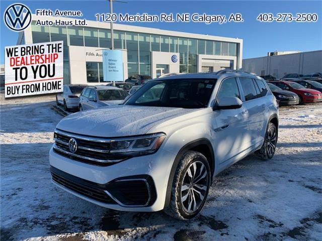 2021 Volkswagen Atlas 3.6 FSI Execline (Stk: 21096) in Calgary - Image 1 of 30