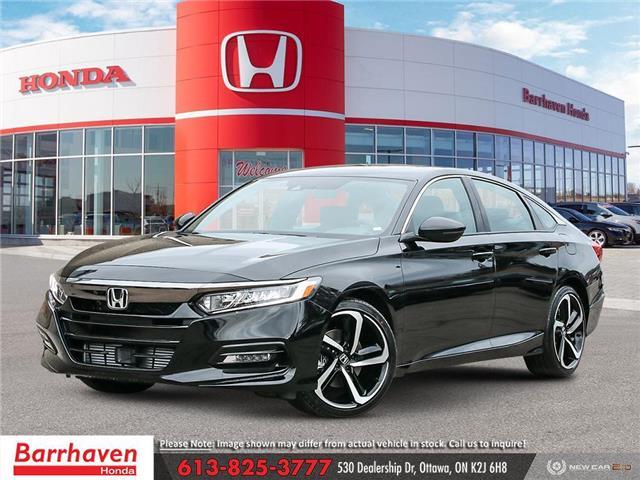 2021 Honda Accord Sport 2.0T (Stk: 3461) in Ottawa - Image 1 of 23