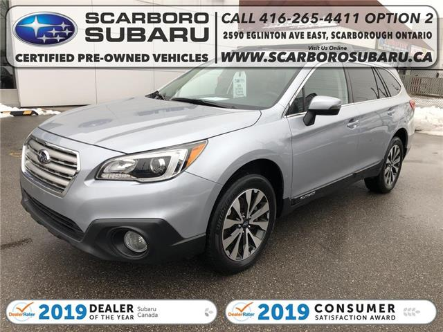 2016 Subaru Outback 2.5i Limited Package (Stk: G3346620) in Scarborough - Image 1 of 21