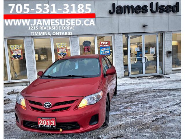 2013 Toyota Corolla CE (Stk: N2197A) in Timmins - Image 1 of 14