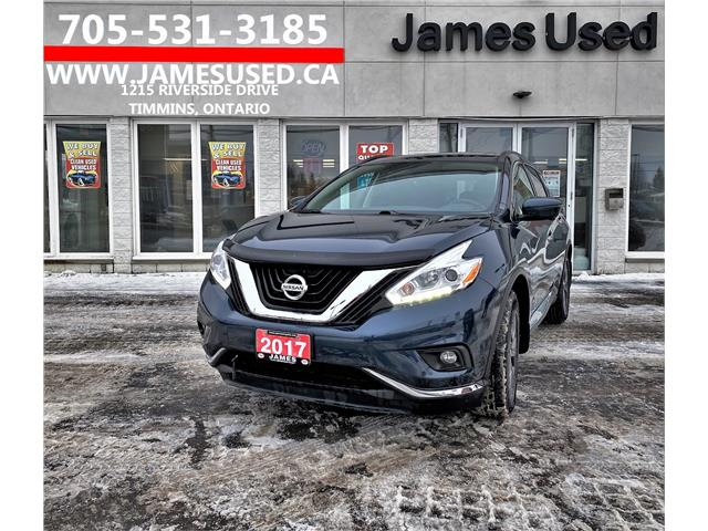 2017 Nissan Murano SV (Stk: N20490A) in Timmins - Image 1 of 13