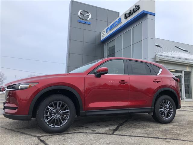 2021 Mazda CX-5 GS (Stk: T2137) in Woodstock - Image 1 of 15