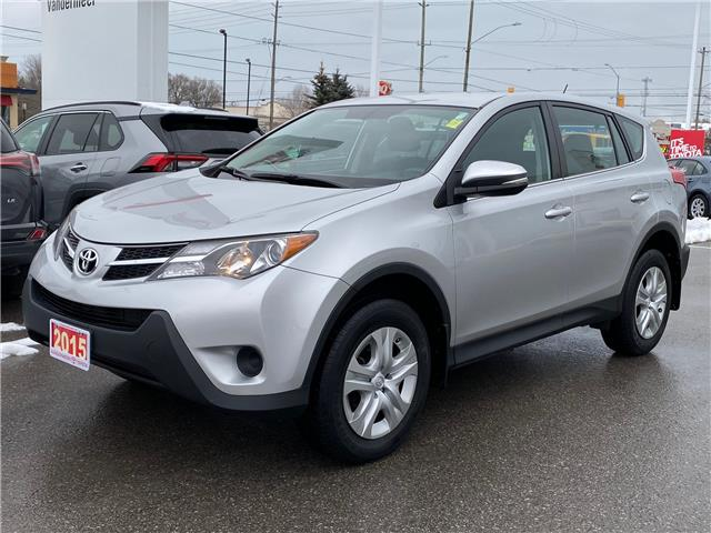 2015 Toyota RAV4 LE (Stk: TX019A) in Cobourg - Image 1 of 23