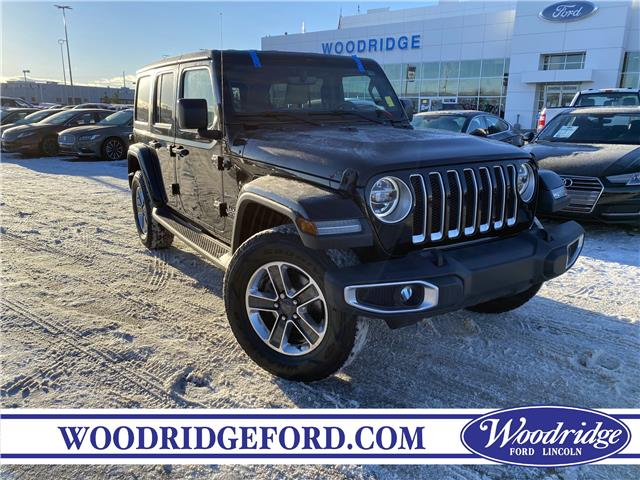 2018 Jeep Wrangler Unlimited Sahara (Stk: L-2142A) in Calgary - Image 1 of 23