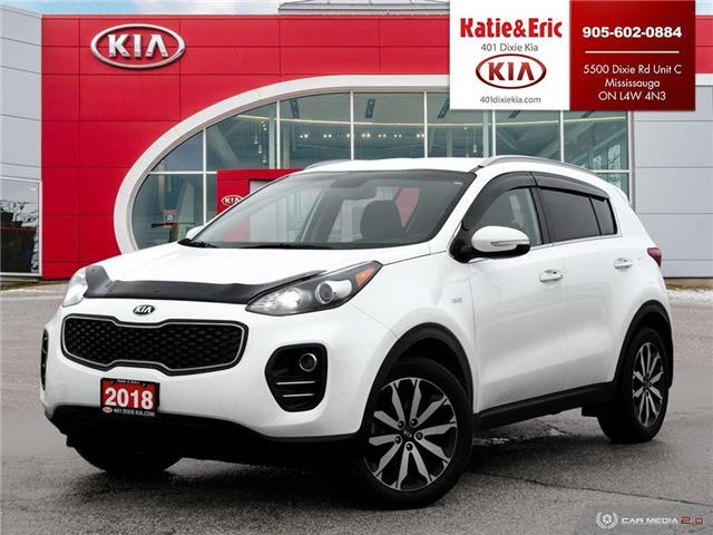 2018 Kia Sportage EX (Stk: SE21095A) in Mississauga - Image 1 of 28