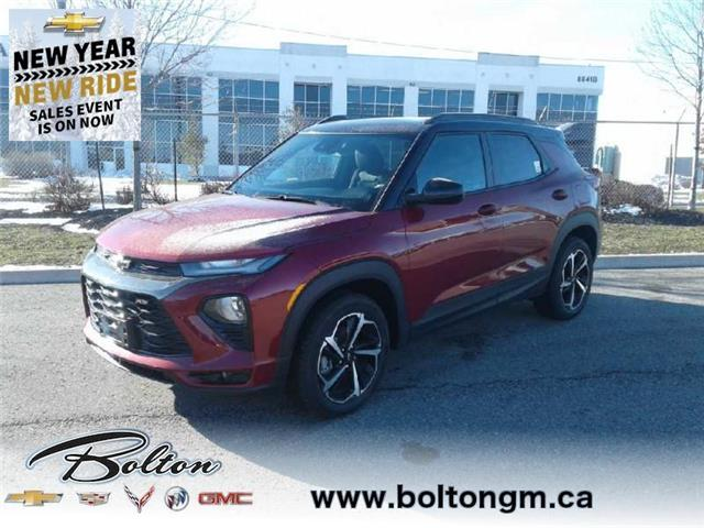 2021 Chevrolet TrailBlazer RS (Stk: MB051395) in Bolton - Image 1 of 15