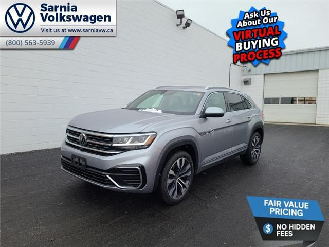 2021 Volkswagen Atlas Cross Sport 3.6 FSI Execline (Stk: V2138) in Sarnia - Image 1 of 14