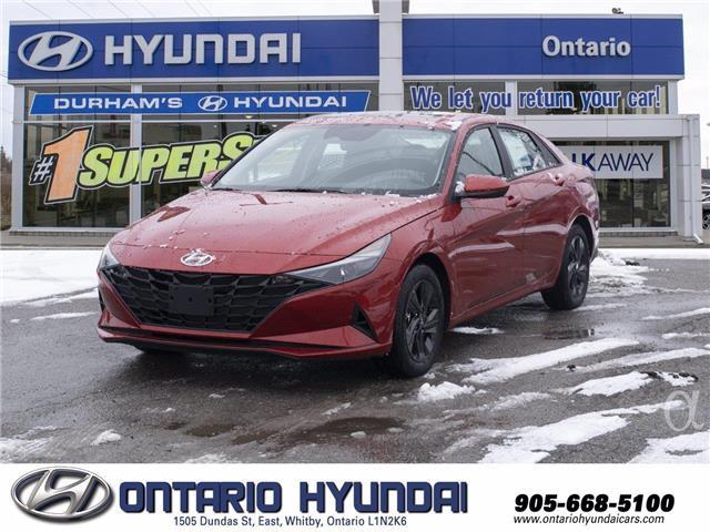2021 Hyundai Elantra Preferred (Stk: 085966) in Whitby - Image 1 of 19