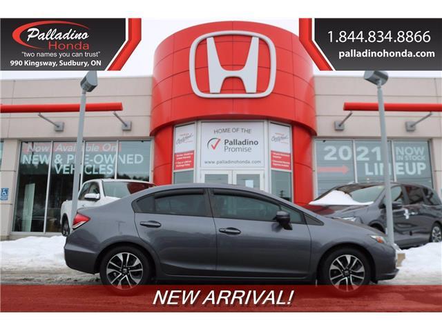 2015 Honda Civic EX (Stk: BC0140) in Greater Sudbury - Image 1 of 1