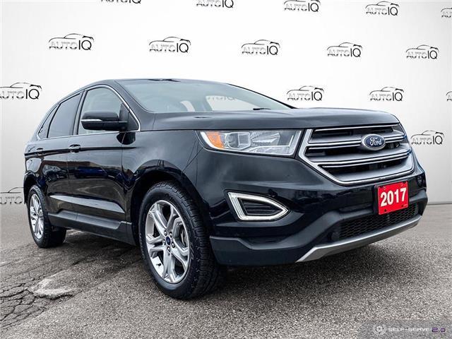 2017 Ford Edge Titanium Black