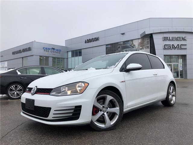 2015 Volkswagen Golf GTI  (Stk: U020463) in Mississauga - Image 1 of 15