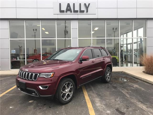 2018 Jeep Grand Cherokee Sunroof | Rev CAm | Leather | Nav (Stk: R00515) in Tilbury - Image 1 of 30