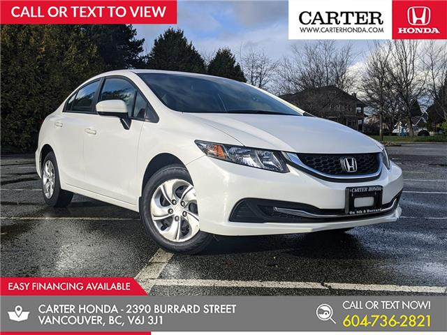 2015 Honda Civic LX (Stk: B61270) in Vancouver - Image 1 of 23