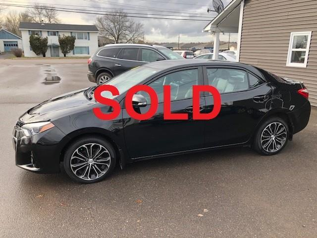 2014 Toyota Corolla S (Stk: ) in Sussex - Image 1 of 24