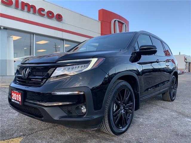 2019 Honda Pilot Black Edition (Stk: SH221) in Simcoe - Image 1 of 24