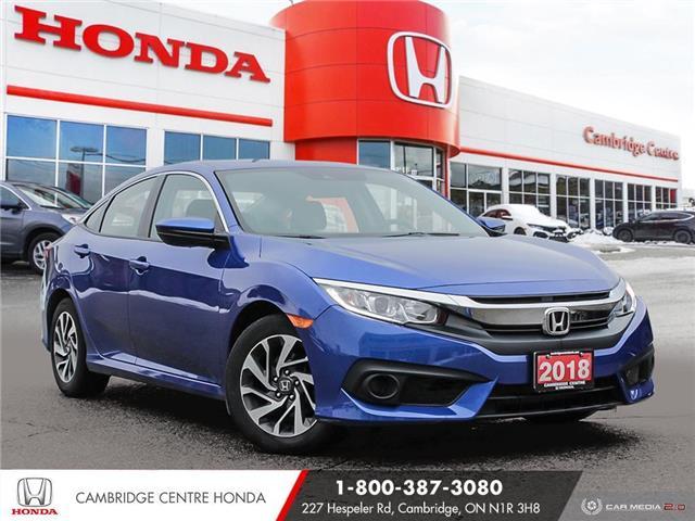 2018 Honda Civic SE (Stk: 20712A) in Cambridge - Image 1 of 27