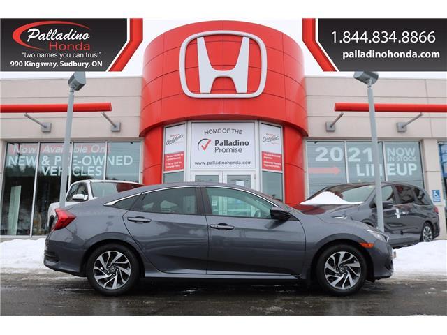 2017 Honda Civic EX (Stk: U9818) in Sudbury - Image 1 of 28