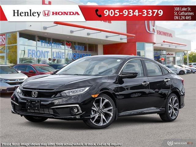 2021 Honda Civic Touring (Stk: H19400) in St. Catharines - Image 1 of 23