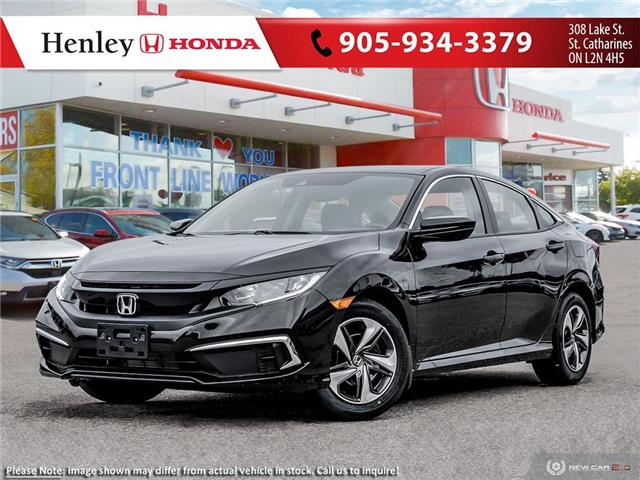 2021 Honda Civic LX (Stk: H19406) in St. Catharines - Image 1 of 23
