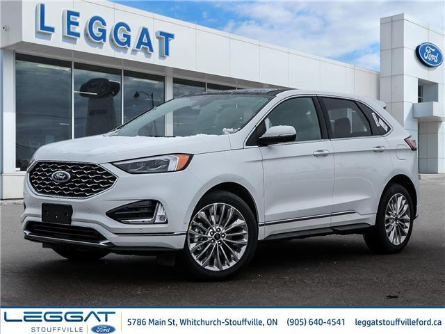 2020 Ford Edge Titanium (Stk: EG08710) in Stouffville - Image 1 of 30