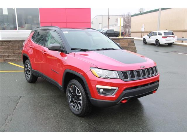 2021 Jeep Compass Trailhawk (Stk: PW1650) in St. Johns - Image 1 of 22