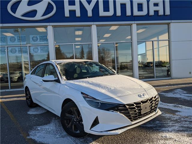 2021 Hyundai Elantra Preferred (Stk: H12672) in Peterborough - Image 1 of 18