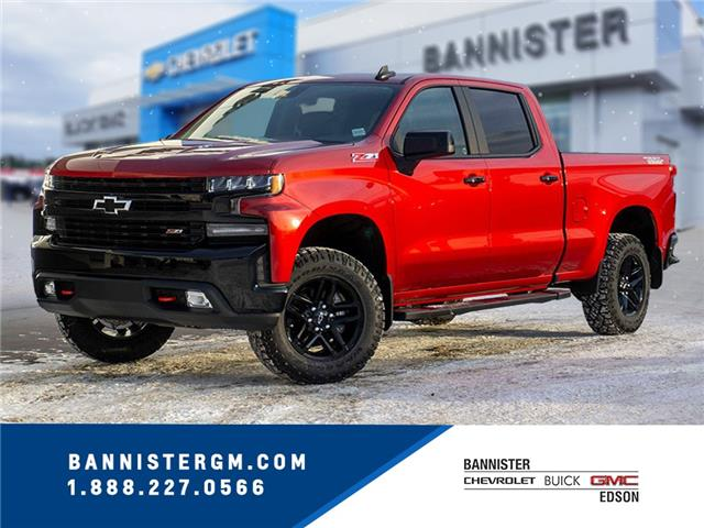 2021 Chevrolet Silverado 1500 LT Trail Boss (Stk: 21-042) in Edson - Image 1 of 17