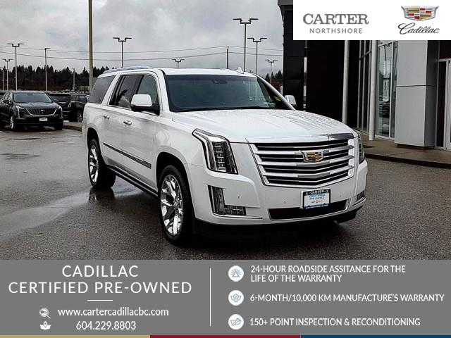 2016 Cadillac Escalade ESV Platinum (Stk: 974830) in North Vancouver - Image 1 of 23
