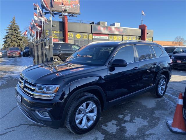 2019 Volkswagen Atlas 3.6 FSI Highline (Stk: 574340) in Toronto - Image 1 of 23