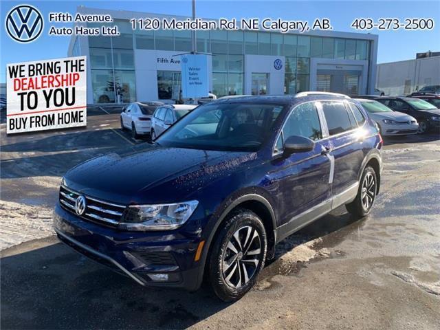 2021 Volkswagen Tiguan Comfortline (Stk: 21104) in Calgary - Image 1 of 24
