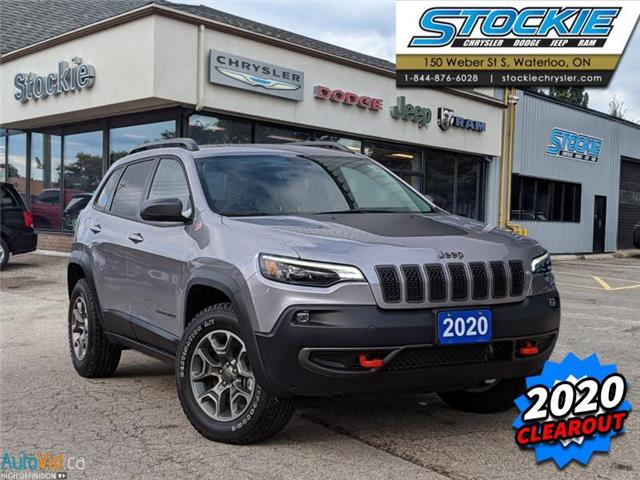 2020 Jeep Cherokee Trailhawk (Stk: 33420) in Waterloo - Image 1 of 15