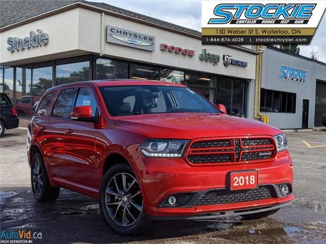 2018 Dodge Durango GT (Stk: 35637) in Waterloo - Image 1 of 28