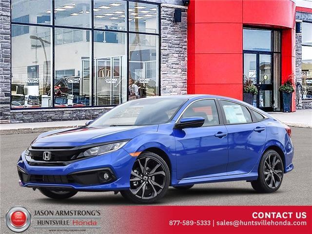 2021 Honda Civic Sport (Stk: 221082) in Huntsville - Image 1 of 23