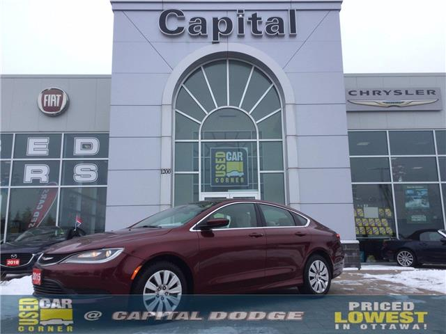 2015 Chrysler 200 LX (Stk: L00285A) in Kanata - Image 1 of 21