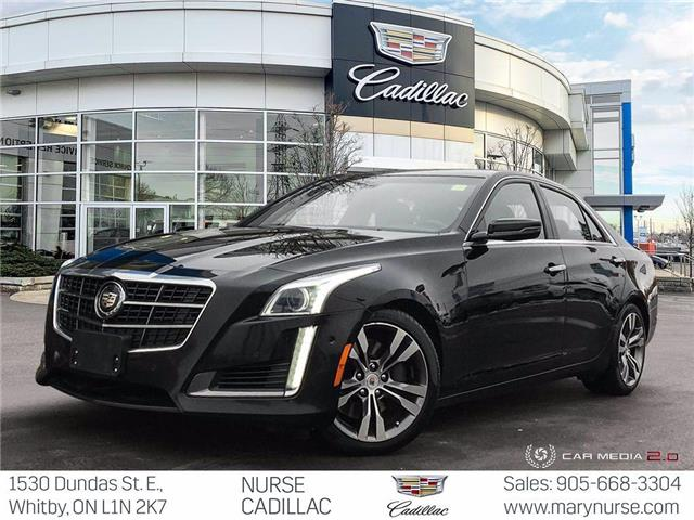 2014 Cadillac CTS 3.6L Twin Turbo Vsport (Stk: 10X459) in Whitby - Image 1 of 26