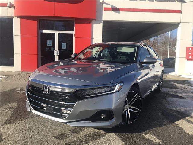 2021 Honda Accord Touring 1.5T (Stk: 11168) in Brockville - Image 1 of 29